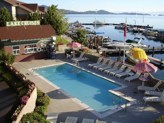 KwaTaqNuk Resort & Casino: one of the two hotel pools
