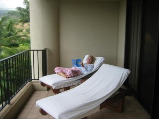 Four Seasons Resort Maui at Wailea: Our balcony - Four Seasons Maui