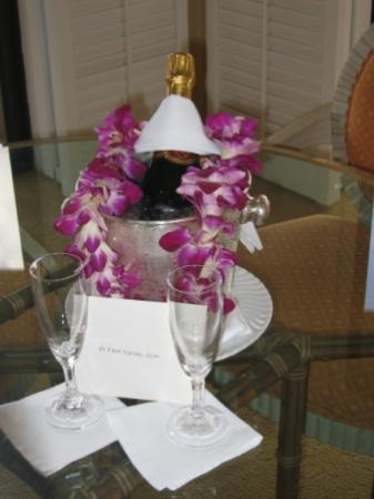 Four Seasons Resort Maui at Wailea: Our arrival gift - Four Seasons Maui