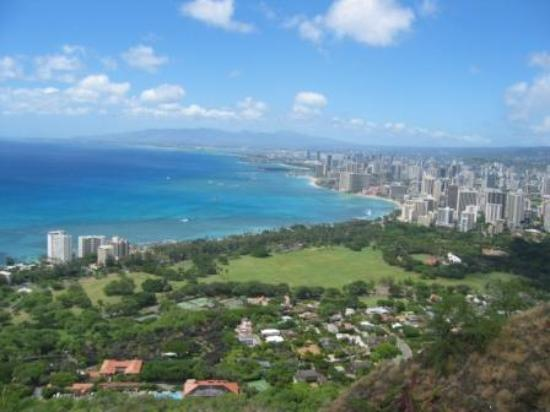 Diamond Head: view from top