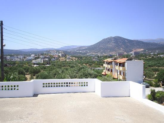 Manos Apartments : View from 1 apartment
