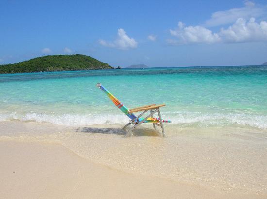إيستايت ليندهولم: Hawksnest Beach: my beach chair