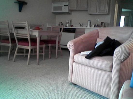 Seascape Resort: Living Room plus