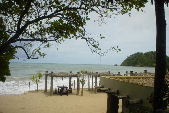 Pimalai Resort and Spa: The beach restaurant