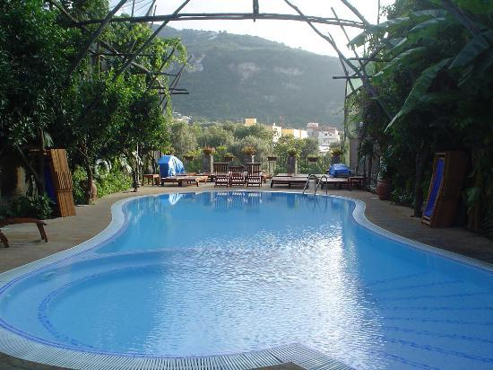Villaggio Verde: The pool area, which overlooked beautiful views