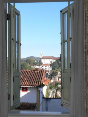 Pousada Classica: View from our room (#13)