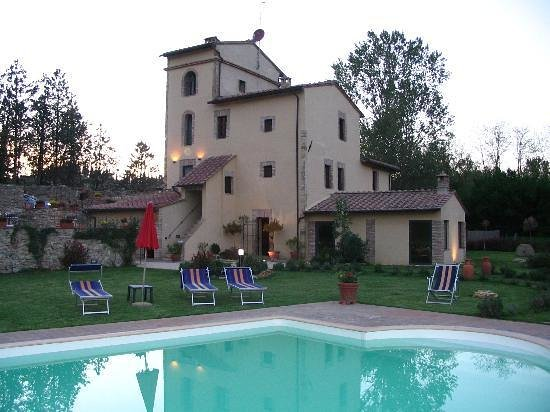 Molino di Foci: View from Pool