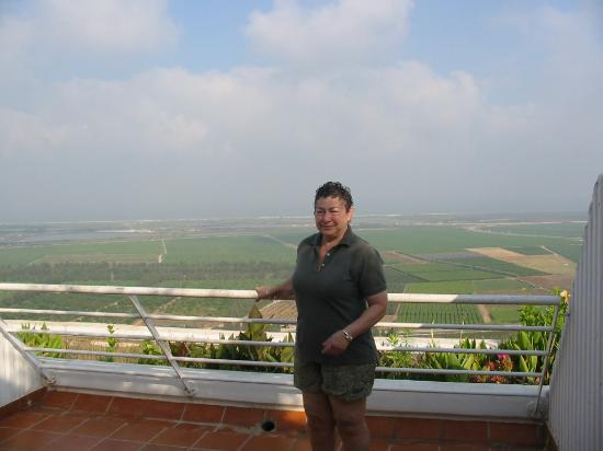 Havat Habaron: The view from our balcony was breathtaking