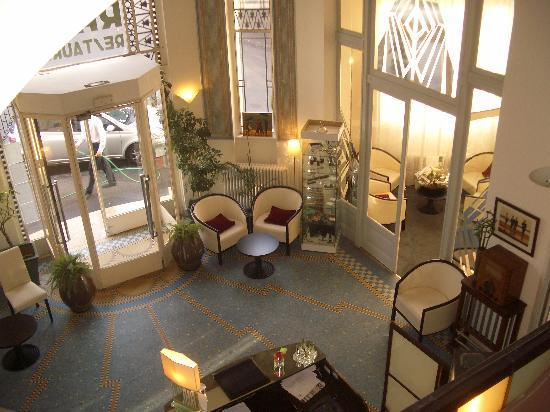 Hotel Radio : The entrance hall