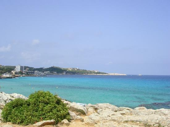 The bay around Cala Ratjada
