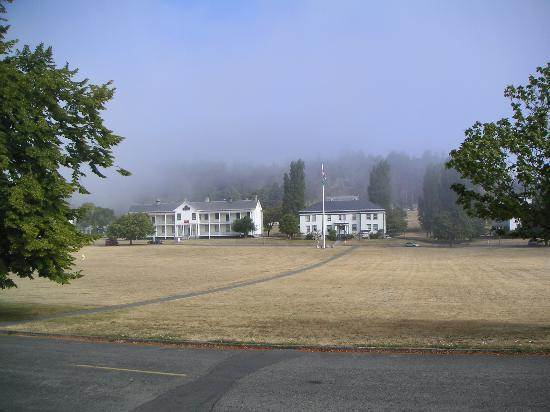 Fort Worden: View from house