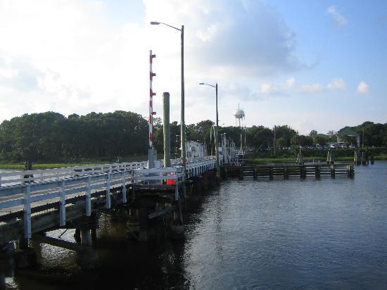 Sunset Beach, Carolina del Norte: The bridge