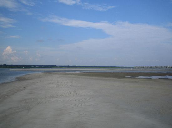 Sea Trail Golf Resort & Conference Center: Low tide looking onto Bird Island