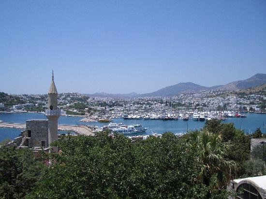 Mandarin Resort: West side of Bodrum Bay