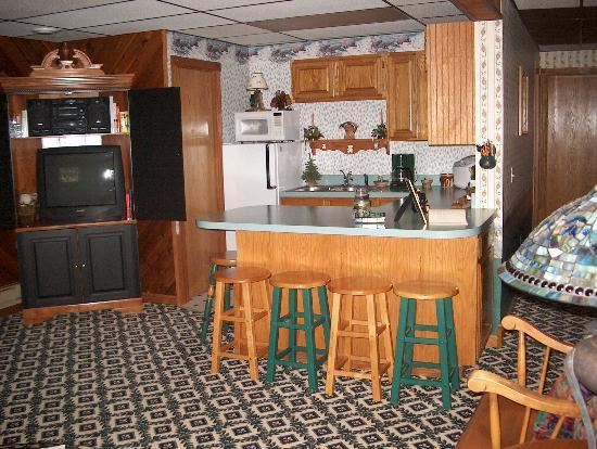 Beary Patch Bed and Breakfast: Kitchenette