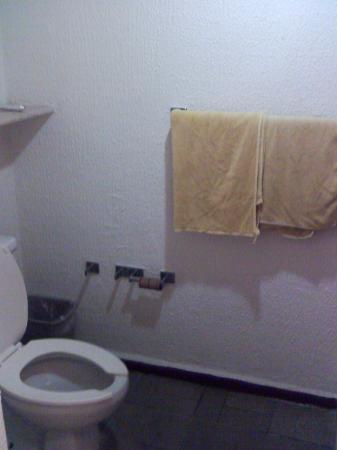 Ocean Spa Hotel: Toilet