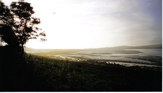 The Erne Estuary behind Portnason House