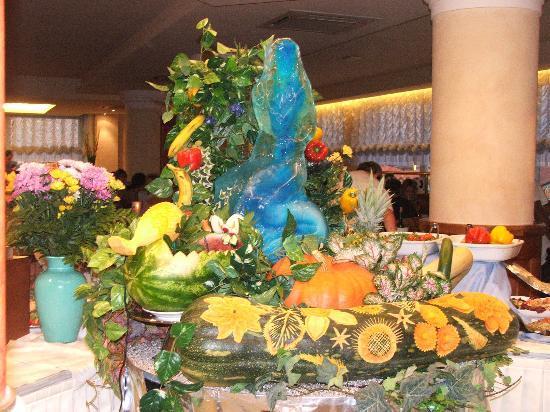 Hotel Principe Palace: Gala Buffet Centrepiece