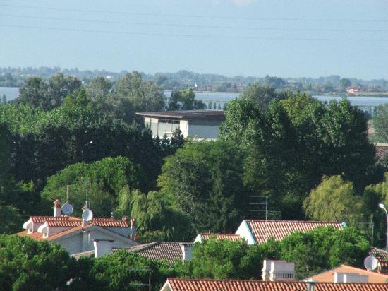 Hotel Principe Palace: View from the rooftop pool