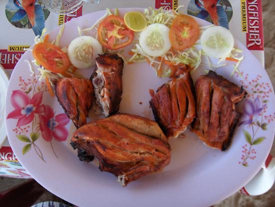Kenilworth Resort & Spa: Tandoor chicken at The Star Fishi