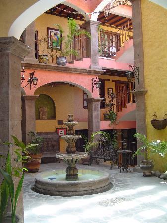 Posada de las Flores Loreto: Hotel Lobby