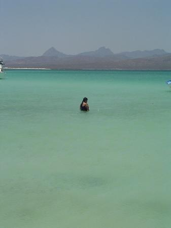 Posada de las Flores Loreto: Sample of beautiful waters at local island
