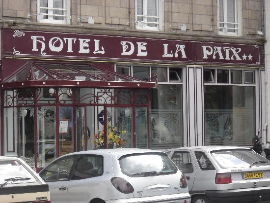 Hotel de la Paix: Hotel Exterior