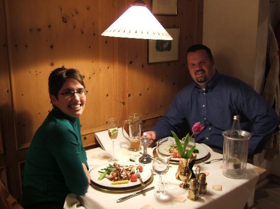 Hotel Ruebezahl: Our gourmet dinner at Ruebezahl.