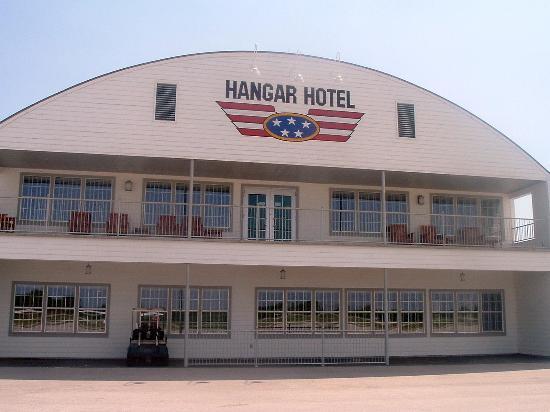 Hangar Hotel Front Of