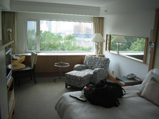 "The Westin Chosun Busan: A great room for the money.  This is the ""Harbor View"" side, not the beach side.  Beautiful!"