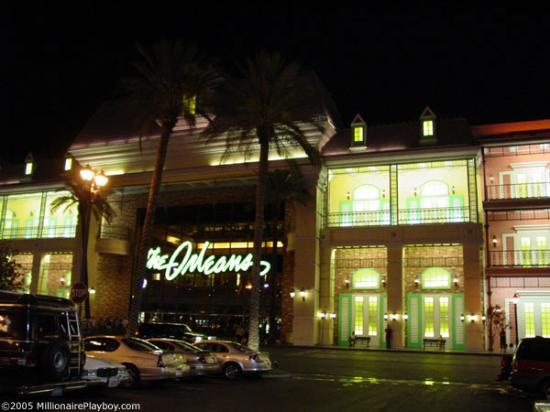 The Orleans Hotel & Casino: We didn't even see the outside until the 4th night
