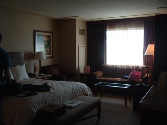 Cache Creek Casino Resort: Nice big rooms