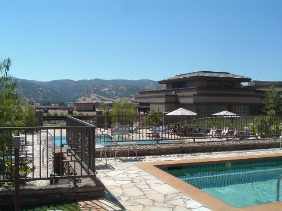 Cache Creek Casino Resort: View From the Pool Area
