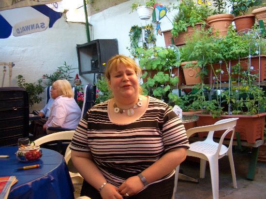 Hotel Koehler Restaurant : Our Hostess - Daniella & her Mom (background)