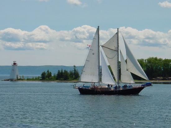 Baddeck, Καναδάς: Great sailing experience