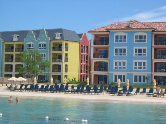 Sandals South Coast : View of Italian & Dutch Villages