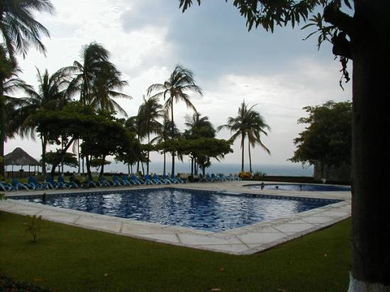 Posada Real Puerto Escondido: Pool Area