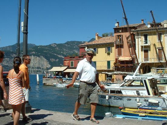 Malcesine, Italien: The Port