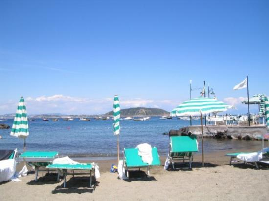 Miramare e Castello Hotel: the Miramare 's beach