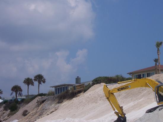 working on seagrove beach 8/18/05