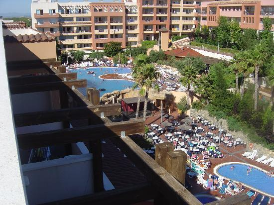 H10 Mediterranean Village: roof top view of main pool area