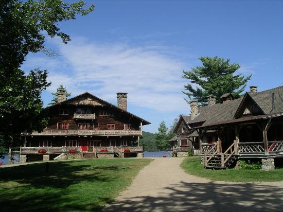 Great Camp Sagamore - main lodge & dining hall