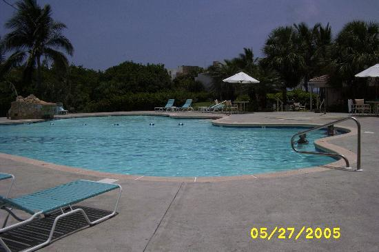 Pelican Cove Condos: View of Pool side