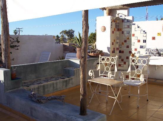 El Angel Azul Hacienda: The Terrace