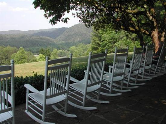 Blackberry Farm: Rocking Chairs On Porch