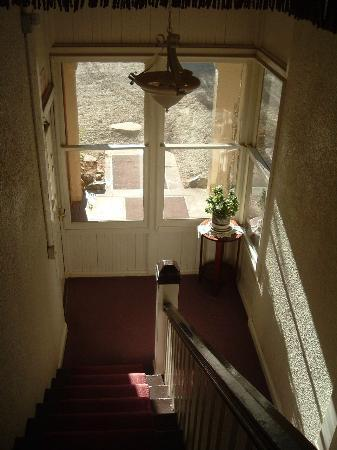 Williams, Kalifornia: The back stairway