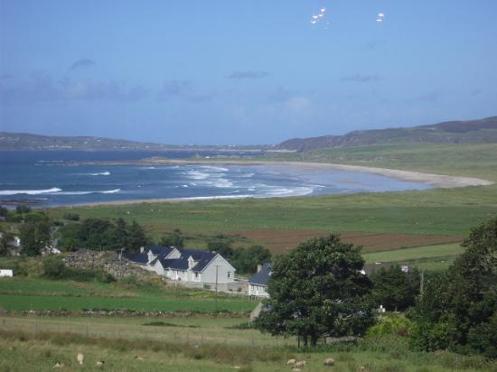 Ballyliffin Lodge & Spa Hotel: View from suite
