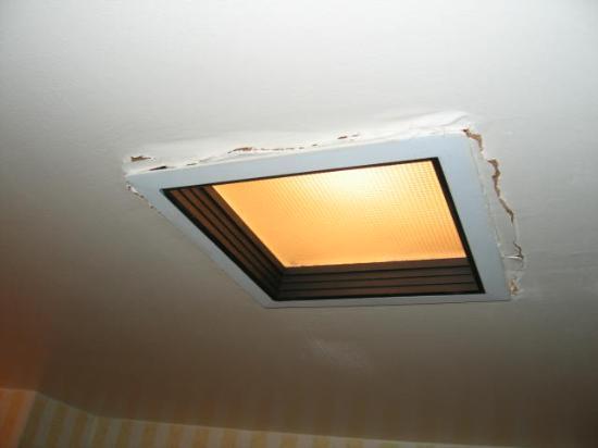 Hilton Orlando Lake Buena Vista - Disney Springs™ Area: Rough bathroom light