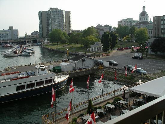 Holiday Inn Kingston - Waterfront: Holiday Inn - Waterfront - Kingston - view from harborside room