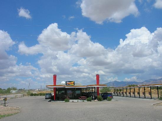 Sonic, Golden Valley, AZ.  Need I say more.
